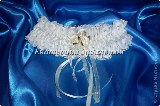 Подвязка для невесты фото 3