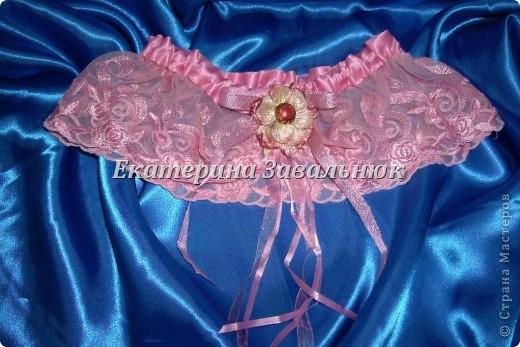 Подвязка для невесты фото 5