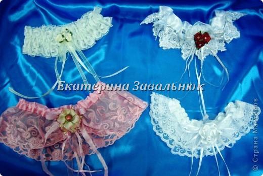 Подвязка для невесты фото 1