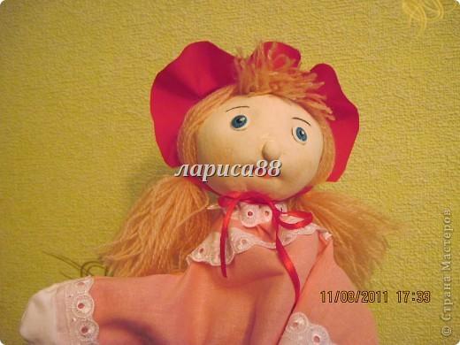 """Куклы для кукольного театра по сказке """"Красная шапочка"""". фото 4"""