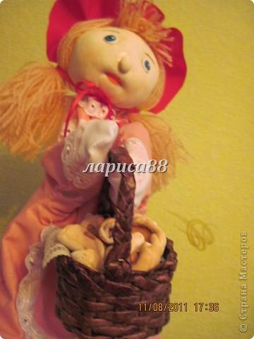 """Куклы для кукольного театра по сказке """"Красная шапочка"""". фото 5"""