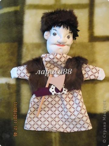 """Куклы для кукольного театра по сказке """"Красная шапочка"""". фото 13"""