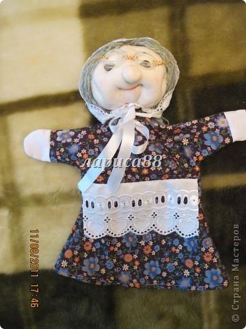 """Куклы для кукольного театра по сказке """"Красная шапочка"""". фото 10"""