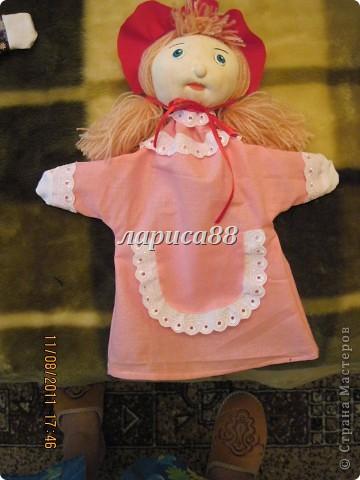 """Куклы для кукольного театра по сказке """"Красная шапочка"""". фото 2"""