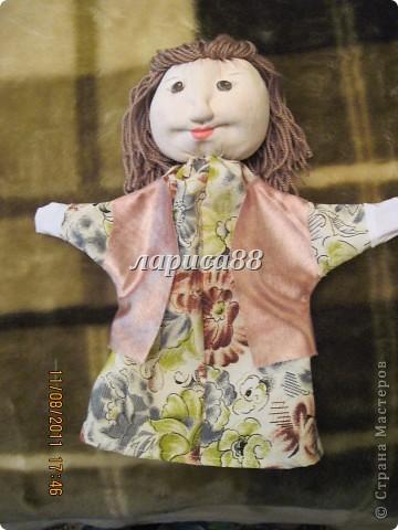 """Куклы для кукольного театра по сказке """"Красная шапочка"""". фото 7"""
