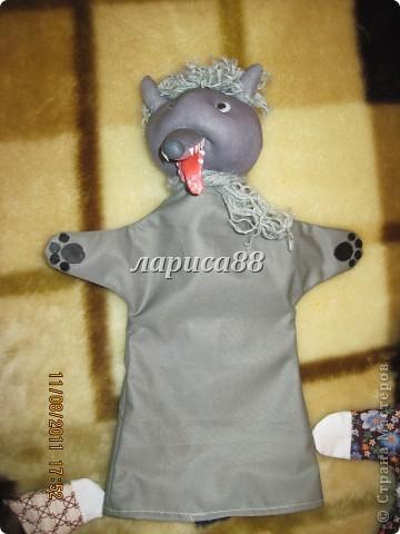 """Куклы для кукольного театра по сказке """"Красная шапочка"""". фото 15"""