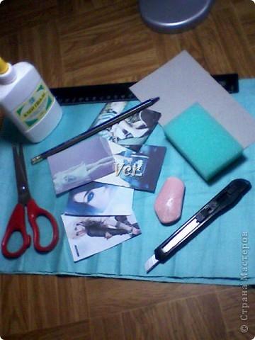 Из обычной губки для мытья посуды можно изготовить вот такую рамочку для фото или любимой картинки. фото 2