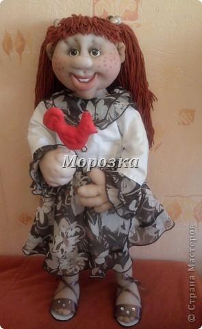 Девочка Дженни большая сладкоежка) фото 1