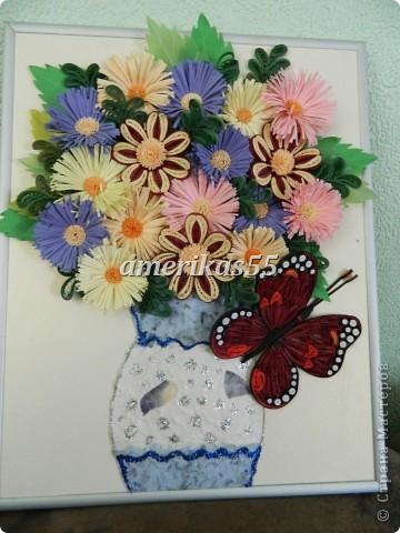 Решила сделать букетик цветов для любимой мамочки на 8 марта. фото 1