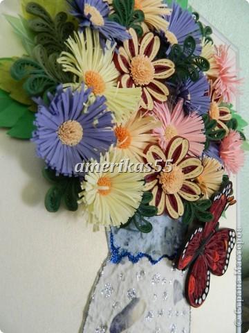 Решила сделать букетик цветов для любимой мамочки на 8 марта. фото 2