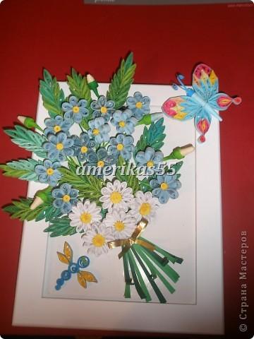Решила сделать букетик цветов для любимой мамочки на 8 марта. фото 27