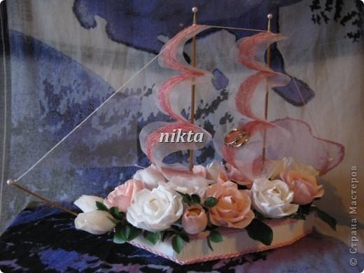 Свадебный кораблик фото 1