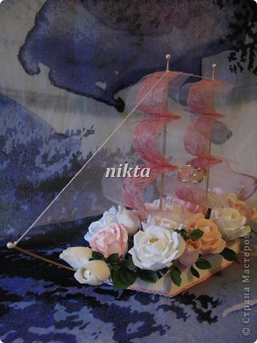 Свадебный кораблик фото 4