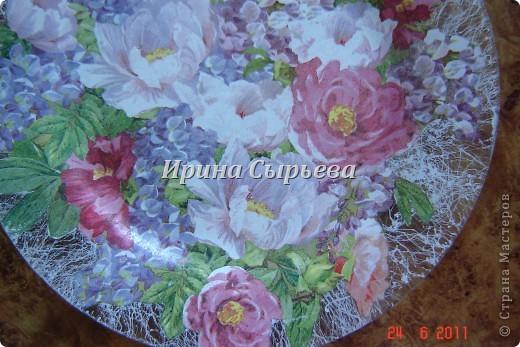 Тарелка под сладенькое. фото 2