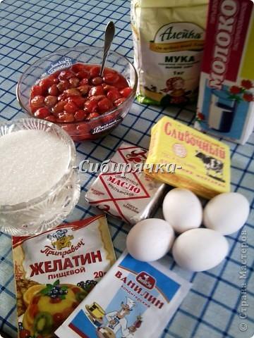 """Клубничный торт (а-ля """"Тропиканка"""") МК. фото 2"""