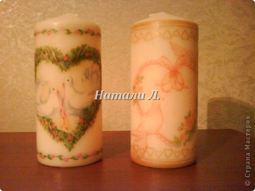 свечи свадебные фото 3