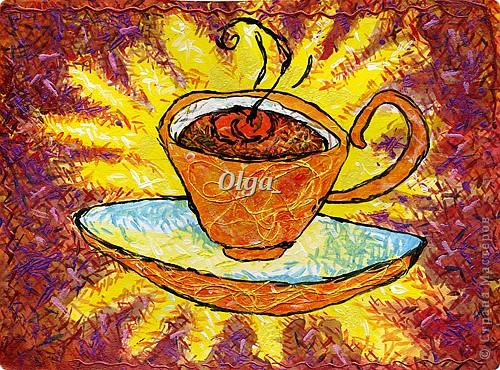 Декоративная чашечка чая
