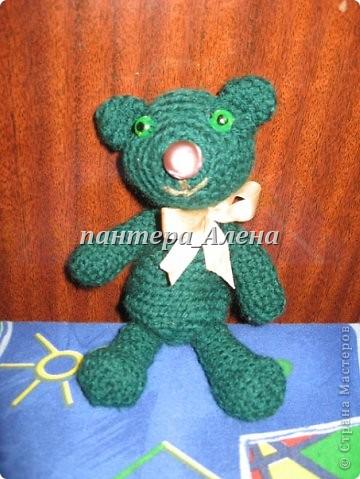 зеленый медвежонок :)
