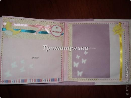 альбом для новорожденной Евочки) обложка фото 10