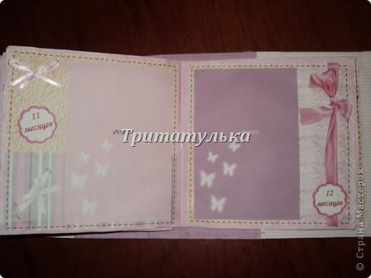 альбом для новорожденной Евочки) обложка фото 11