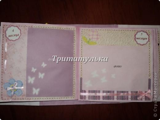 альбом для новорожденной Евочки) обложка фото 6