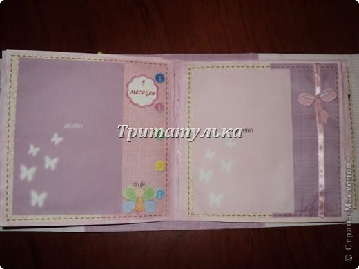 альбом для новорожденной Евочки) обложка фото 8