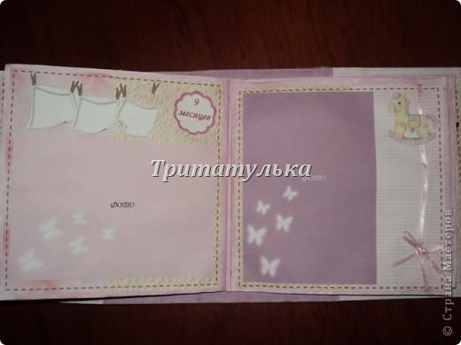 альбом для новорожденной Евочки) обложка фото 9