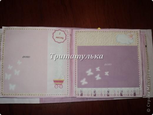 альбом для новорожденной Евочки) обложка фото 4