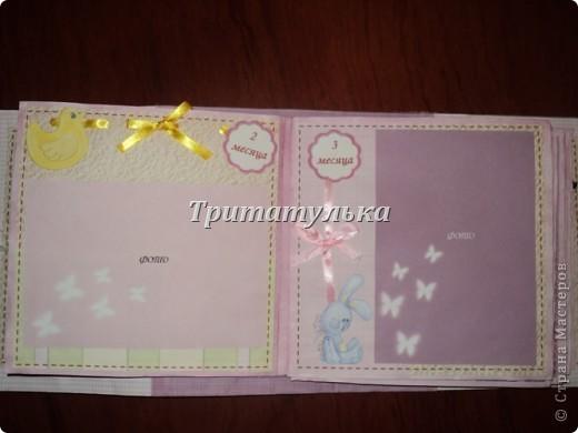 альбом для новорожденной Евочки) обложка фото 5