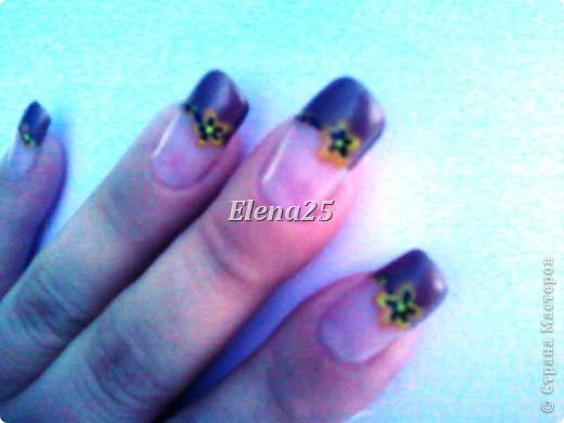 Увлеклась недавно росписью ногтей. Оцените творчество начинающего художника росписи по ногтям.  Ноготки невесты. фото 10