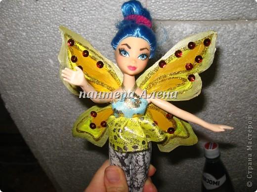 Как сделать крылья куклам
