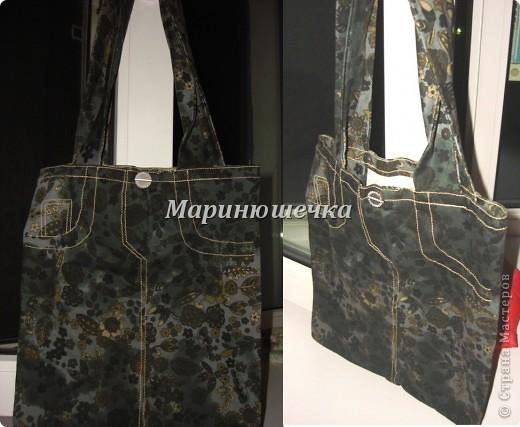 """ещё одна летняя сумочка """"Матрасик"""". внутрь с горем пополам вшила карманчик на змейке, потому что главный замочек - кнопка - не спасает от """"вываливания"""" вещей  )) фото 3"""