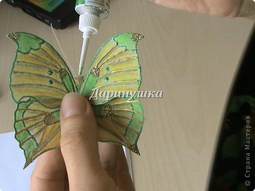 Мои бабочки + МК фото 16