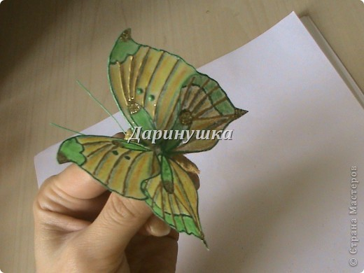 Мои бабочки + МК фото 17