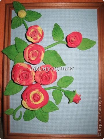 Корзинка с розами фото 7