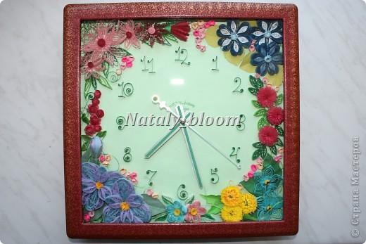 Цветочные часы фото 2