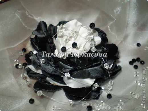 Цветы из ткани фото 13