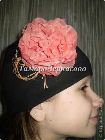 Цветы из ткани фото 11