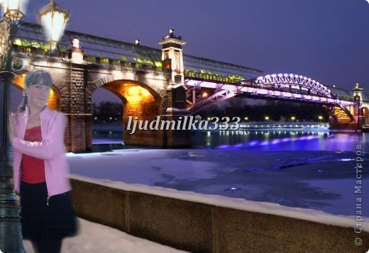 1) Моя первая из первых работ в фотошопе )))) фото 7