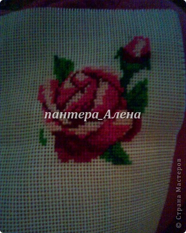 МОЯ первая вышивка - РОЗЫ фото 2