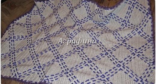 Подарочный комплект для новорожденного- одеялко и пинетки из детского акрила. фото 9