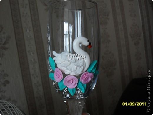 Лебеди сделаны по МК Валентинки Порчелли. Валентинка, спасибо!!!  фото 3