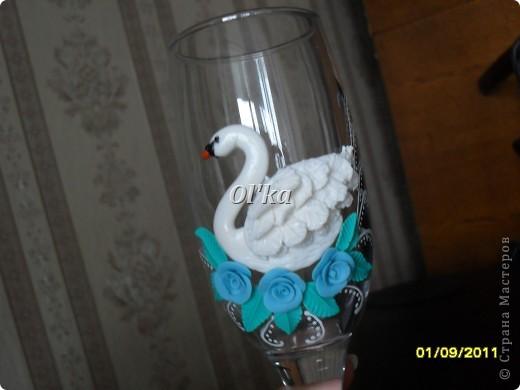 Лебеди сделаны по МК Валентинки Порчелли. Валентинка, спасибо!!!  фото 2