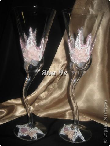 """Свадебные бокалы """"Лилит"""" фото 1"""