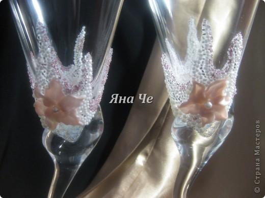 """Свадебные бокалы """"Лилит"""" фото 3"""
