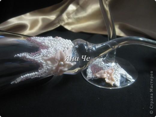 """Свадебные бокалы """"Лилит"""" фото 4"""