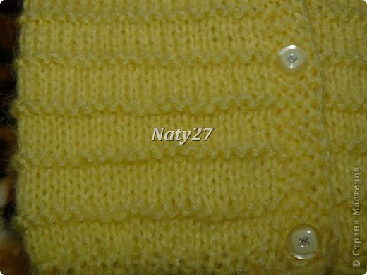 Жёлтенькая кофточка фото 2