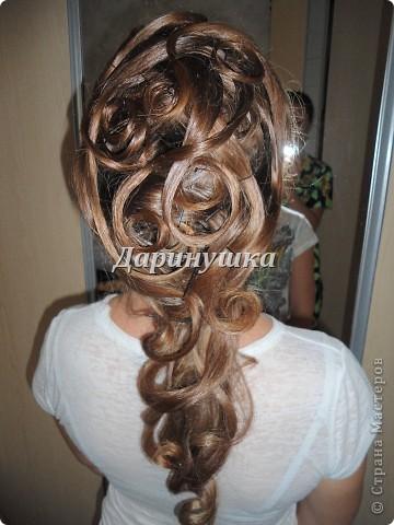 Причёска для невесты фото 1