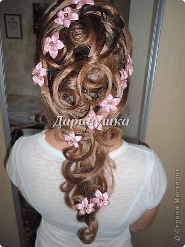 Причёска для невесты фото 2