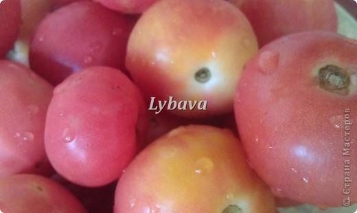 Любимые помидорчики! Рецепт прост, но такая вкуснотень получается!И так, начнем! фото 1